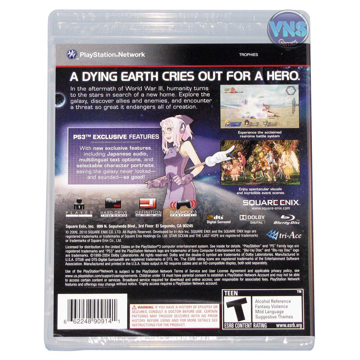 Star Ocean Last Hope International - PS3