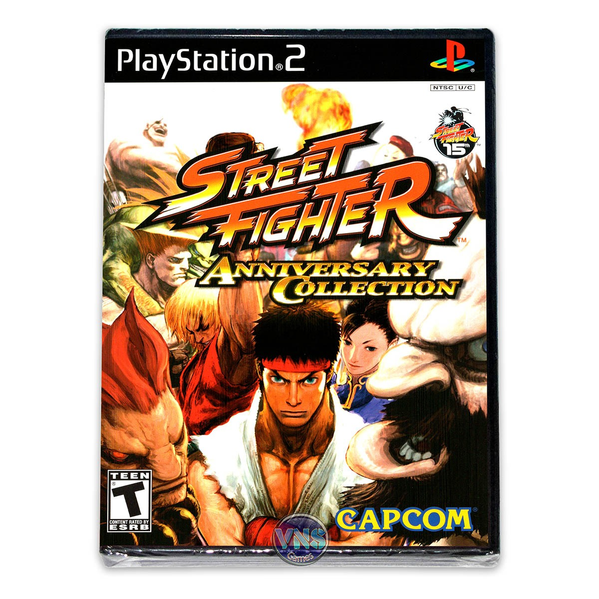 Street Fighter Anniversary Collection - PS2