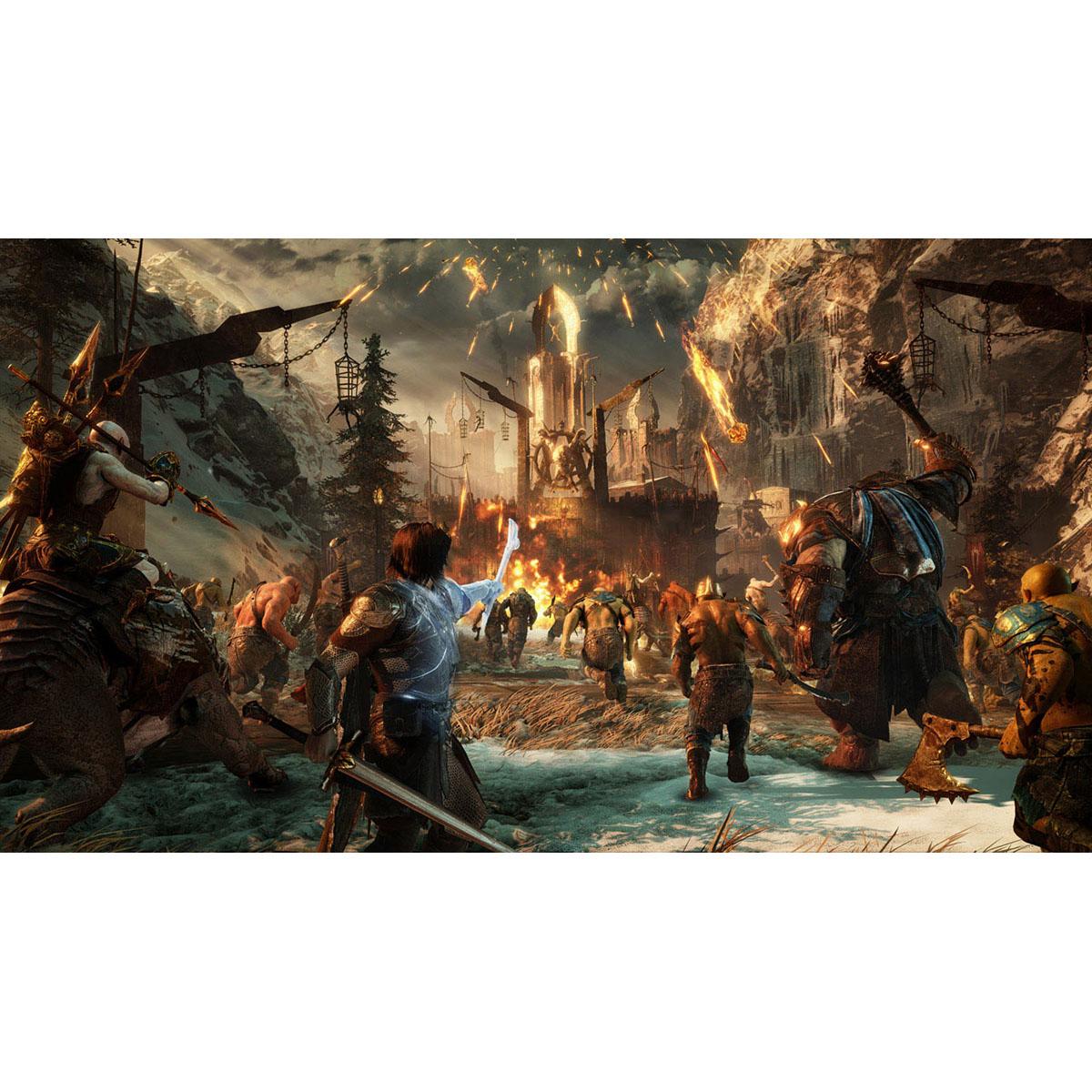 Terra Média: Sombras da Guerra Definitive Edition - PS4