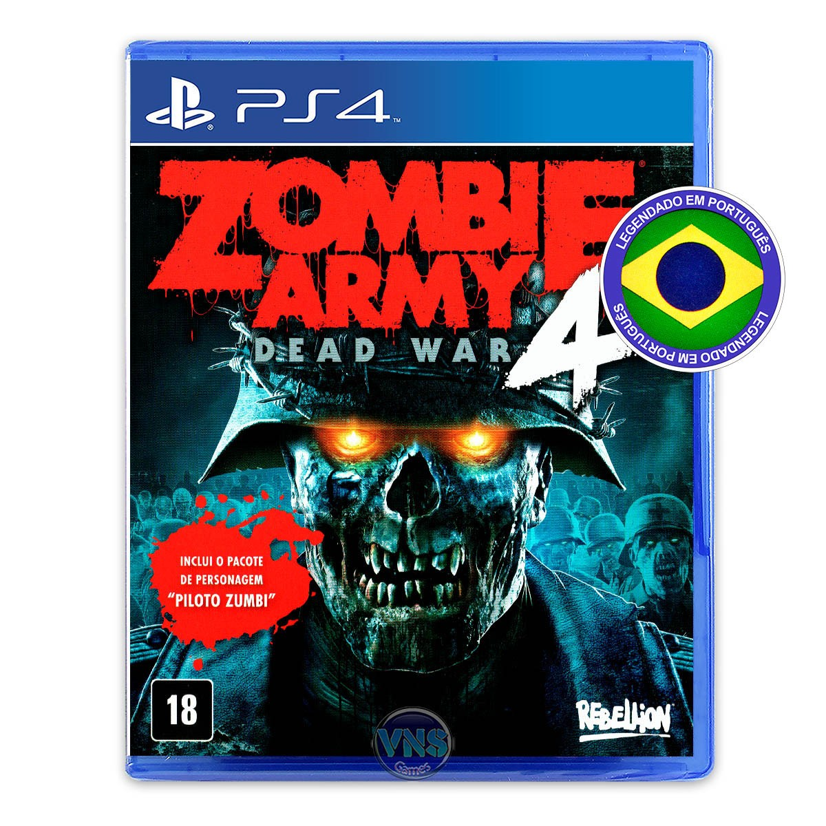 Zombie Army 4  Day One Edition - PS4
