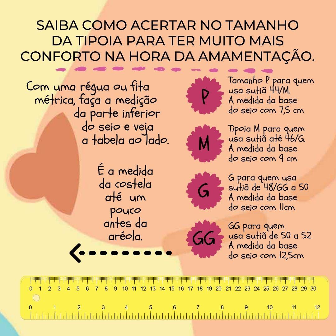 Tipoia de Amamentação  - Samba Calcinha