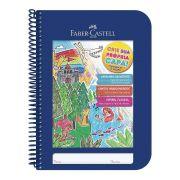 Caderno Espiral Criativo Capa Azul Faber Castell