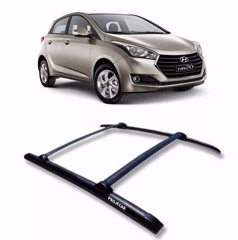 Rack Teto Hyundai Hb20 - Preto