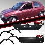 Kit Parachoque Corsa 94/02 + 4 Molduras Poroso - Gringos Imports Auto Pecas