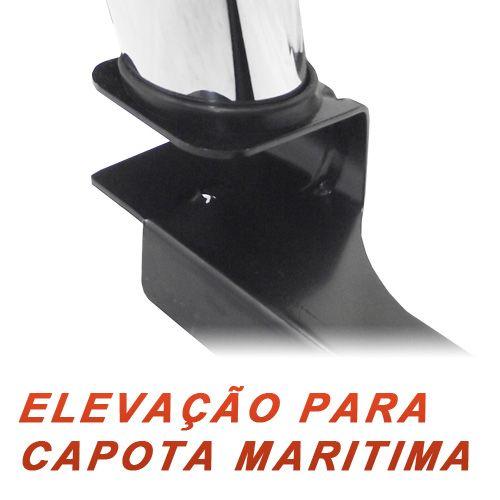Santo Antonio Duplo Cromado Nova Mitsubish L200 XB 2012