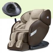 Poltrona de Massagem Fênix Bege + Massageador EaseFoot