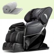 Poltrona de Massagem Star Preta + Tapete de Nylon (90x160cm)