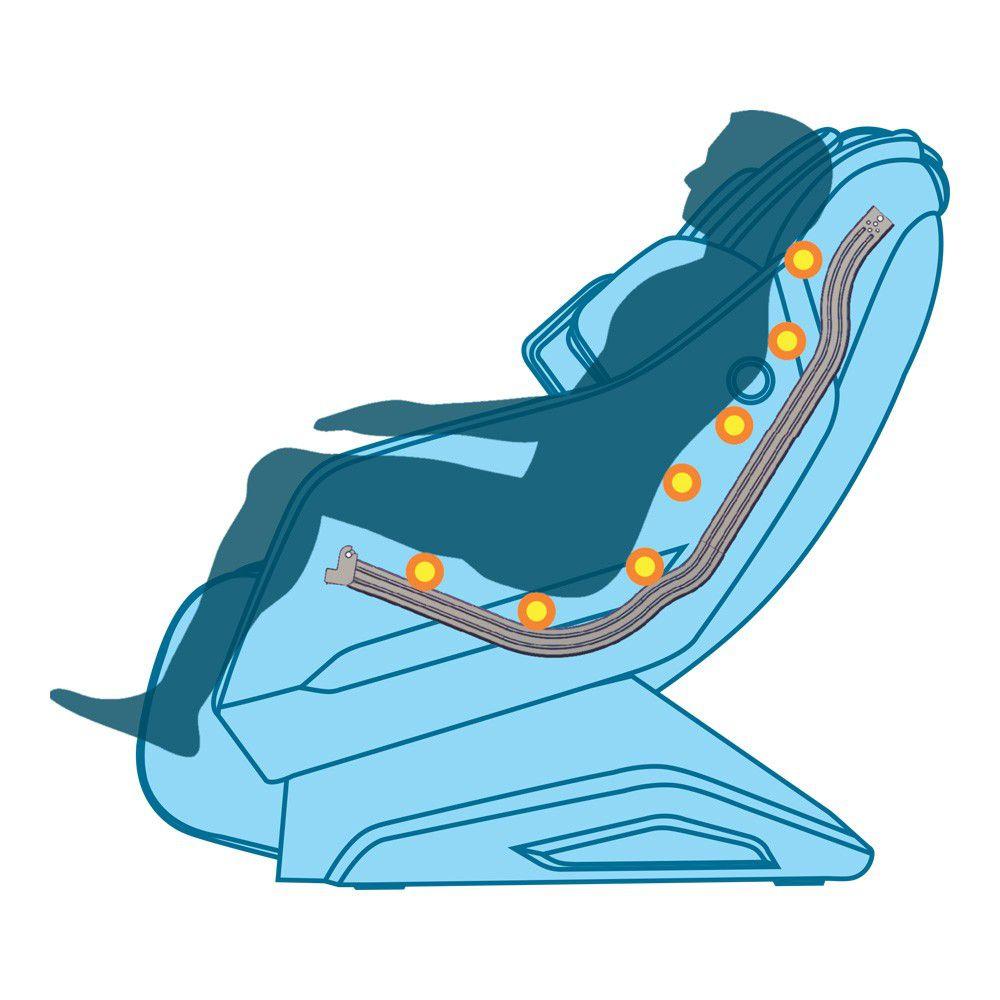 Poltrona de Massagem Discovery - Operada por Cédulas e Vouchers  - Massage Express