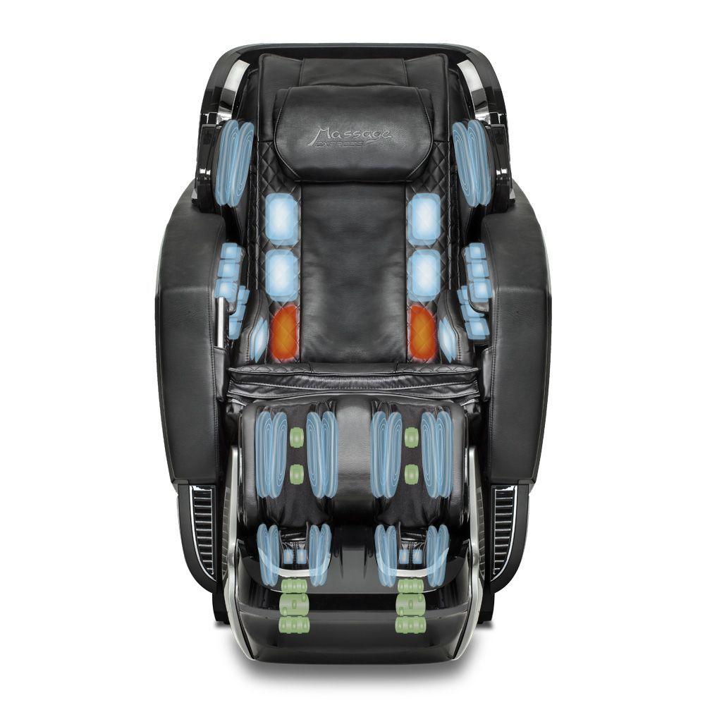 Poltrona de Massagem Neo Space 3D - Cor Preta  - Massage Express