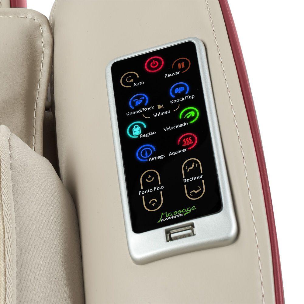 Poltrona de Massagem Next - Cor Marrom  - Massage Express