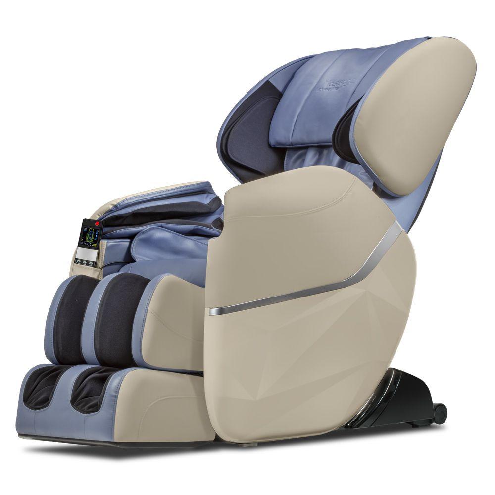 Poltrona de Massagem Star - Cor Bege/Azul  - Massage Express