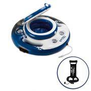 Bar Cooler Inflável Flutuante Intex 15 Litros + Bomba Inflar