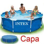 Piscina Intex 4485 Litros Estrutural Com Capa