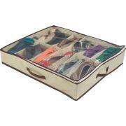 Sapateira Semi-Fexível Organizadora 12 Calçados - My Closet
