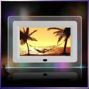 Porta Retrato Digital Tela 7 Lcd Controle Usb Pen Drive - 4 LEDs