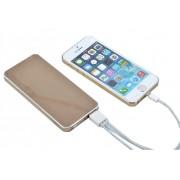 Carregador Portátil Bateria Externa 6000 Mah Samsung Iphone