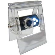Webcam 8.0 Mega Pixel Usb Com 3 Leds