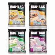 Kit 4 Sacos A Vácuo Vac Bag Médio Grande Extra Jumbo Ordene