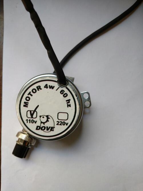 Motor para chocadeira  - Agrodove