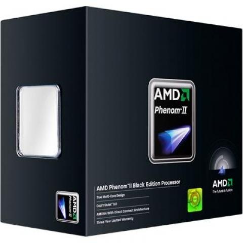 Processador AMD Phenom II x4 955 3.2GHz Quad-Core Black Edition Box
