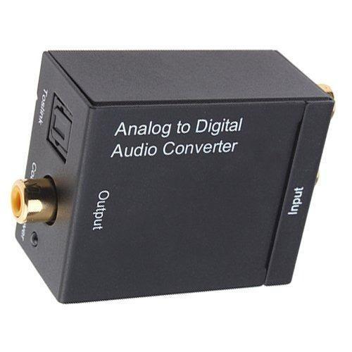 Conversor Optico Toslink Analógico Para Digital