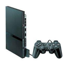 Video Game Playstation II Slim Destravado 1 Controle Original