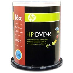DVD-R HP 16X 100PK