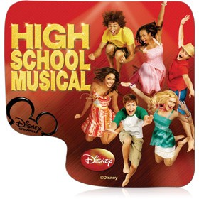 Mouse Pad Clone High School Musical 04071