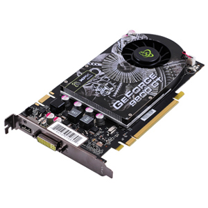 PLACA DE VÍDEO GEFORCE 9800GT 512MB DDR3 256BITS PV-T98G-YAF3