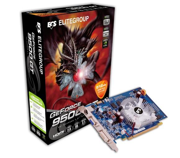 Placa de Vídeo 9500GT 1024MB DDR3 ECS