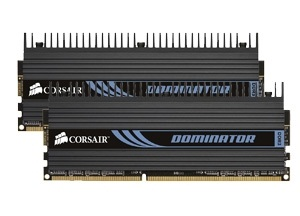 Corsair Dominator  PC12800 RAM - 2B DDR3, 1600MHz TW3X4G1600C9D