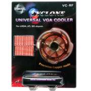 COOLER P/ PLACA DE V�DEO EVERCOOL VC-RF(EL) CYCLONE COBRE LED