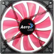 Cooler Fan Lightning 14cm Red LED EN51370 Vermelho Aerocool