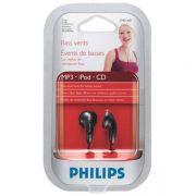 Fone de Ouvido Philips Preto - SHE1360