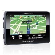 GPS Multilaser Navegador 4.3 Polegadas Touchscreen - GP033