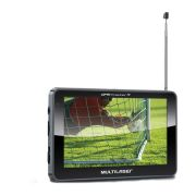 GPS Multilaser 5.0 Polegadas Touchscreen TV Digital FM - GP036