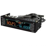 Controlador De Cooler Fan LCD Warrior Multilaser GA147 P/ Gabinete
