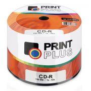 CD-R Multilaser 52x c/ 50 Un. Shrink Print Plus - CD051PP