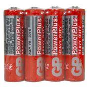 Blister 4 Pilhas AAA Powerplus 1.5 V GP