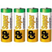 Blister 4 Pilhas AA Super Alcalina 1.5a 1.5v LR6 GP Super