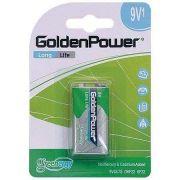 Bateria Golden Power Long Life 9v - G6F22