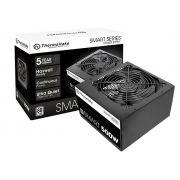 Fonte ATX Thermaltake 500W Smart Series 80 Plus, PFC Ativo PS-SPD-0500NPCWBZ-W