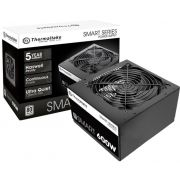 Fonte ATX Thermaltake 600W Smart Series 80 Plus, PFC Ativo - PS-SPD-0600NPCWBZ-W