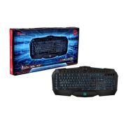 Teclado Thermaltake Gamer TT Sports Challenger Prime Lighting ABNT2 USB KB-CHM-MBBLPB-01