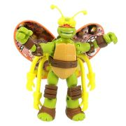Boneco Figura de Ação Colecionável Tartarugas Ninja Mikey Turflytle 12CM BR030 Multilaser