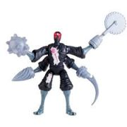 Boneco Figura de Ação Colecionável Tartarugas Ninja Robot Foot Soldier 12CM BR030 Multilaser