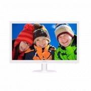 Monitor Philips 21.5 Polegadas Full HD LED, 223V5LHSW/57 Branco