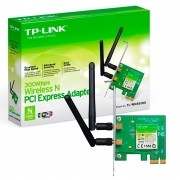 Placa de rede Wireless PCI Express N 300Mbps TL-WN881ND - TP-Link