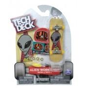 Tech Deck Mini Skate de Mão Multikids Alien Workshop Series 4 Yellow BR263