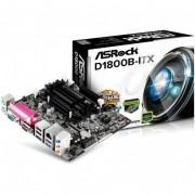 Placa Mãe ASRock D1800B-ITX Mini ITX + Processador Intel Dual Core J1800